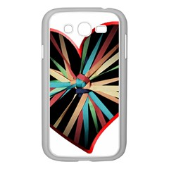 Above & Beyond Samsung Galaxy Grand Duos I9082 Case (white) by Onesevenart