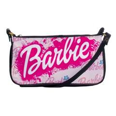 Barbie Pattern Shoulder Clutch Bags by Onesevenart