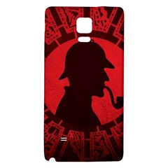 Book Cover For Sherlock Holmes And The Servants Of Hell Galaxy Note 4 Back Case by Onesevenart