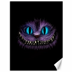 Cheshire Cat Animation Canvas 36  X 48   by Onesevenart