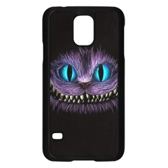 Cheshire Cat Animation Samsung Galaxy S5 Case (black) by Onesevenart