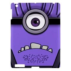 Evil Purple Apple Ipad 3/4 Hardshell Case by Onesevenart