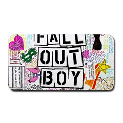 Fall Out Boy Lyric Art Medium Bar Mats by Onesevenart