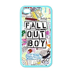 Fall Out Boy Lyric Art Apple Iphone 4 Case (color) by Onesevenart