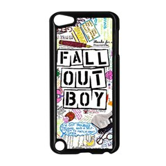 Fall Out Boy Lyric Art Apple Ipod Touch 5 Case (black) by Onesevenart