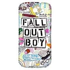 Fall Out Boy Lyric Art Samsung Galaxy S3 S Iii Classic Hardshell Back Case by Onesevenart