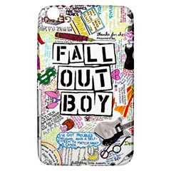 Fall Out Boy Lyric Art Samsung Galaxy Tab 3 (8 ) T3100 Hardshell Case  by Onesevenart