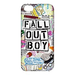 Fall Out Boy Lyric Art Apple Iphone 5c Hardshell Case by Onesevenart