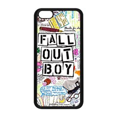 Fall Out Boy Lyric Art Apple Iphone 5c Seamless Case (black) by Onesevenart