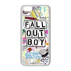 Fall Out Boy Lyric Art Apple Iphone 5c Seamless Case (white) by Onesevenart