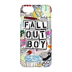 Fall Out Boy Lyric Art Apple Iphone 7 Hardshell Case by Onesevenart