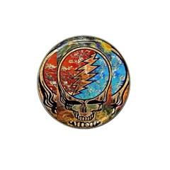 Grateful Dead Rock Band Hat Clip Ball Marker (4 Pack) by Onesevenart