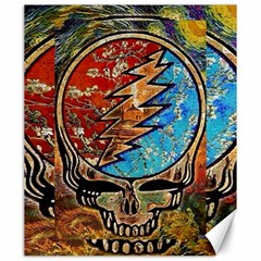 Grateful Dead Rock Band Canvas 20  X 24   by Onesevenart