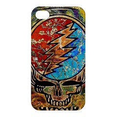 Grateful Dead Rock Band Apple Iphone 4/4s Premium Hardshell Case by Onesevenart