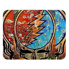 Grateful Dead Rock Band Double Sided Flano Blanket (large)  by Onesevenart