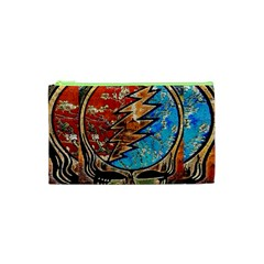 Grateful Dead Rock Band Cosmetic Bag (xs) by Onesevenart