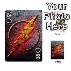 Grunge Flash Logo Playing Cards 54 Designs  by Onesevenart