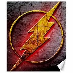 Grunge Flash Logo Canvas 8  X 10  by Onesevenart