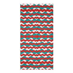 Geometric Waves Shower Curtain 36  X 72  (stall)  by dflcprints