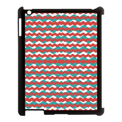 Geometric Waves Apple Ipad 3/4 Case (black) by dflcprints