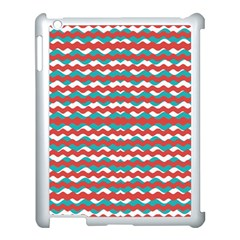 Geometric Waves Apple Ipad 3/4 Case (white) by dflcprints