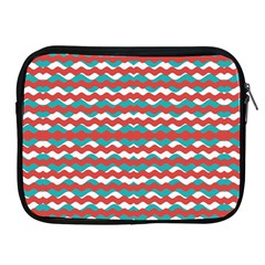 Geometric Waves Apple Ipad 2/3/4 Zipper Cases by dflcprints