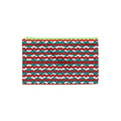 Geometric Waves Cosmetic Bag (xs) by dflcprints