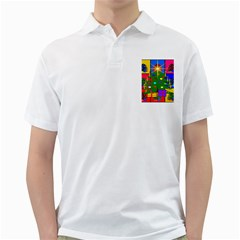 Christmas Ornaments Advent Ball Golf Shirts by Zeze