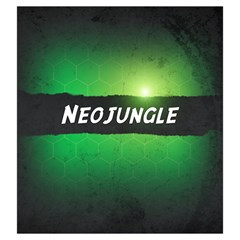 Neuroshima Hex   Neo Jungle By Rom   Drawstring Pouch (large)   Klwe0eunm44s   Www Artscow Com Back