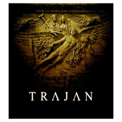 Trajan   C By Rom   Drawstring Pouch (large)   Kqjsf36k3qg1   Www Artscow Com Front