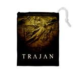 Trajan - C - Drawstring Pouch (Large)