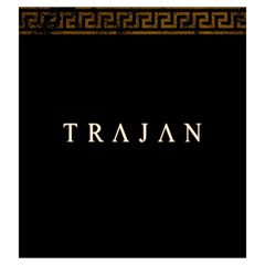 Trajan   C By Rom   Drawstring Pouch (large)   Kqjsf36k3qg1   Www Artscow Com Back