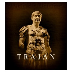 Trajan   A By Rom   Drawstring Pouch (large)   70hoz8zip3km   Www Artscow Com Front
