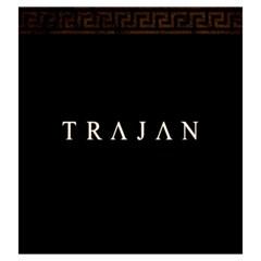 Trajan   A By Rom   Drawstring Pouch (large)   70hoz8zip3km   Www Artscow Com Back