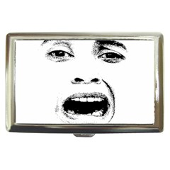 Scared Woman Expression Cigarette Money Cases by dflcprints