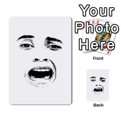 Scared Woman Expression Multi Purpose Cards (rectangle)  by dflcprints
