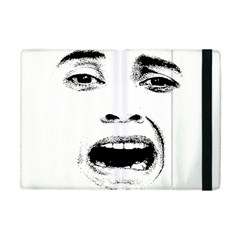 Scared Woman Expression Apple Ipad Mini Flip Case by dflcprints