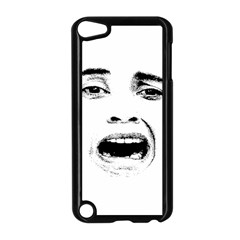 Scared Woman Expression Apple Ipod Touch 5 Case (black) by dflcprints