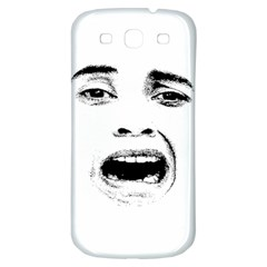 Scared Woman Expression Samsung Galaxy S3 S Iii Classic Hardshell Back Case by dflcprints