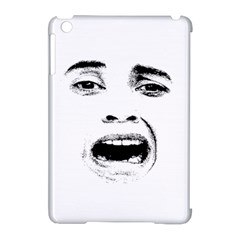 Scared Woman Expression Apple Ipad Mini Hardshell Case (compatible With Smart Cover) by dflcprints