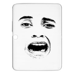 Scared Woman Expression Samsung Galaxy Tab 3 (10 1 ) P5200 Hardshell Case  by dflcprints