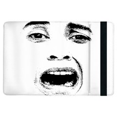 Scared Woman Expression Ipad Air Flip by dflcprints