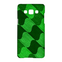 Fabric Textile Texture Surface Samsung Galaxy A5 Hardshell Case  by Zeze