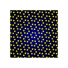Star Christmas Yellow Acrylic Tangram Puzzle (4  x 4 ) by Zeze