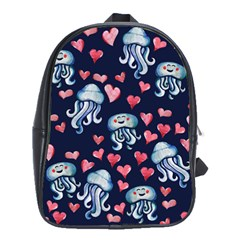 Jellyfish Love School Bags(large)  by BubbSnugg