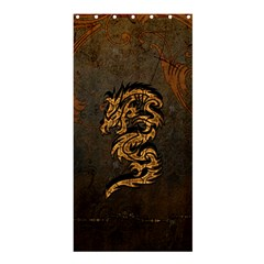 Awesome Dragon, Tribal Design Shower Curtain 36  X 72  (stall)  by FantasyWorld7