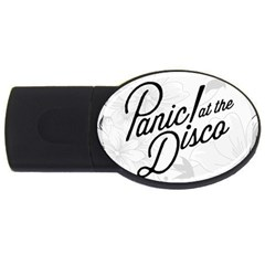 Panic At The Disco Flowers Usb Flash Drive Oval (2 Gb)  by Onesevenart