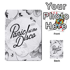 Panic At The Disco Flowers Multi Purpose Cards (rectangle)  by Onesevenart