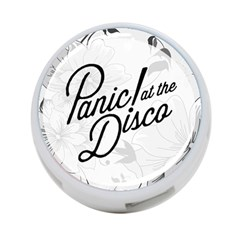 Panic At The Disco Flowers 4 Port Usb Hub (two Sides)  by Onesevenart