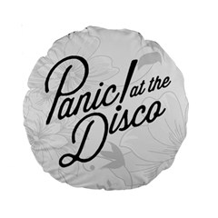 Panic At The Disco Flowers Standard 15  Premium Round Cushions by Onesevenart